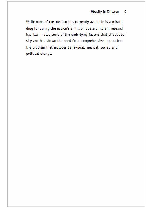 Sample APA Paper