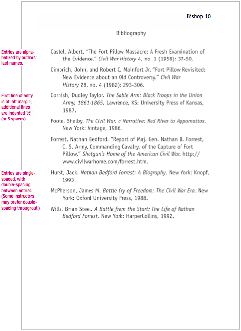 Order of authors in research paper Sample of bibliography for project