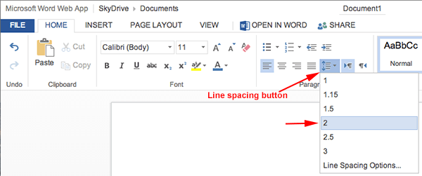 mla format using microsoft word 365  u2013 office 365 onedrive