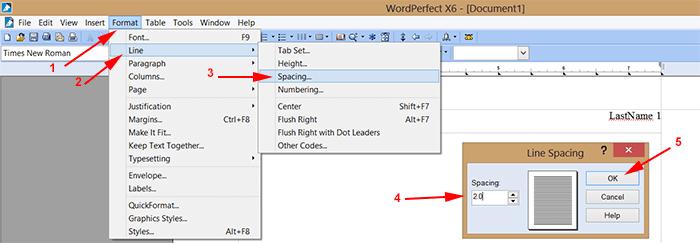 wordperfect-doublespaced